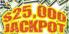 $25,000 Jackpot