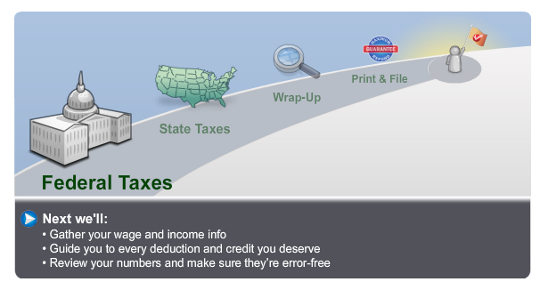 Next Step: TurboTax Federal Taxes