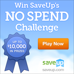 SaveUp No Spend Challenge