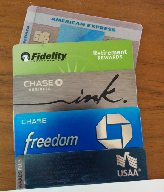 Reward Credit Cards in my Wallet