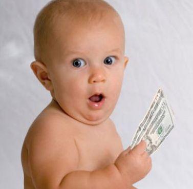 invest baby money