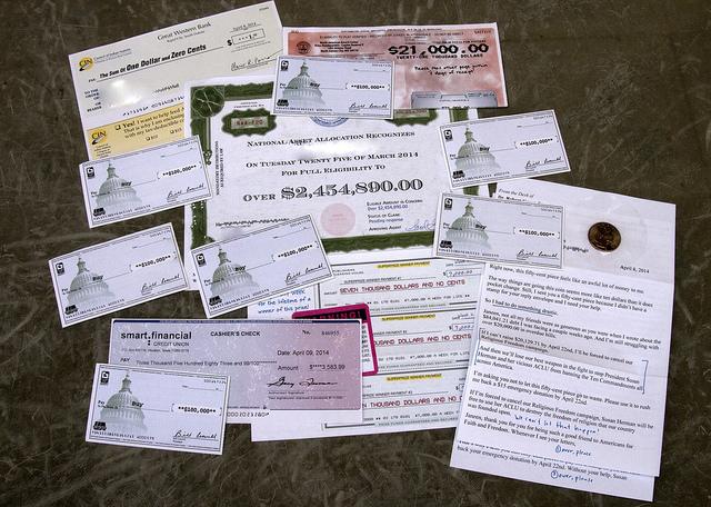 Fake checks