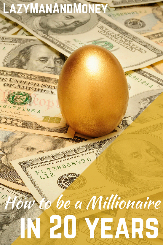 How To Be a Millionaire in 20 Years