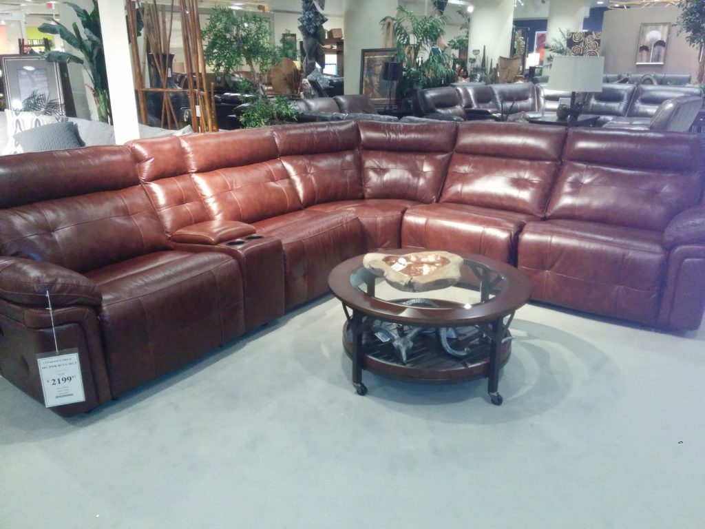 Couch in Store