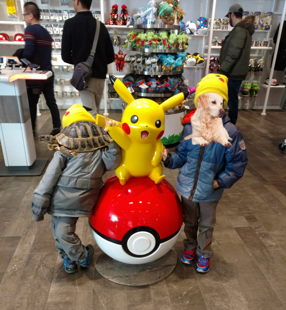 Pokemon Nintendo New York City