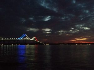 Pell Bridge Night